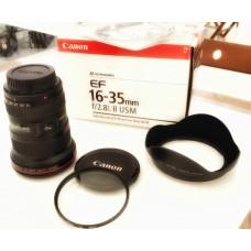 taksim Canon EF 16-35mm F/2.8 L II USM + UV Filtre
